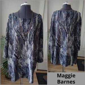 Maggie Barnes Pearl Finish Tunic